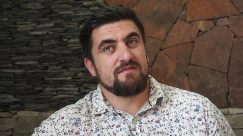 Generalny dyrektor Kompanii Filmowej Czeczenfilm Biesłan Terekbajew
