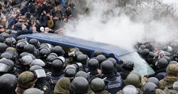 Zatrzymanie Michaiła Saakaszwilego w Kijowie