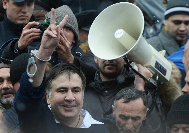 Micheil Saakaszwili w Kijowie