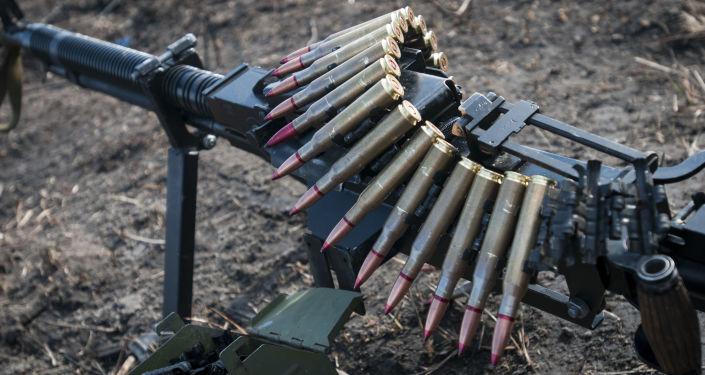 Karabin maszynowy ukraińskiej armii