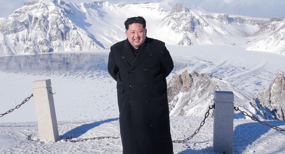 Kim Dzong Un zdobywcą szczytów
