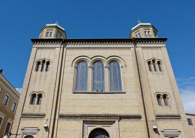 Synagoga w szwedzkim Goteborgu
