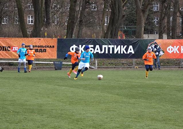 24-godzinny mecz piłki nożnej w Kaliningradzie