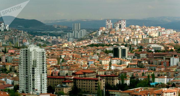 Widok na Ankarę