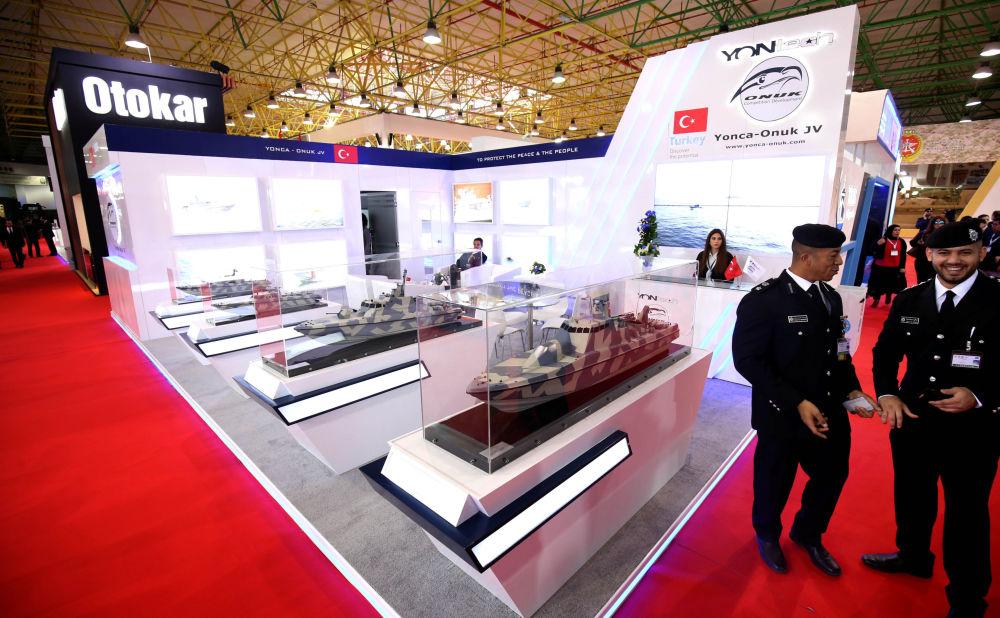 Stoisko tureckiej firmy Yonca-Onuk JV