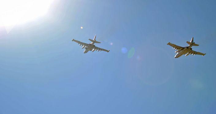 Rosyjskie Su-25 wracają z Syrii