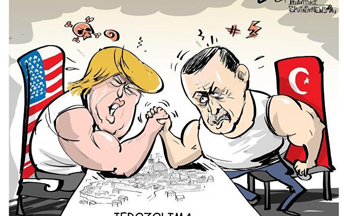 Erdogan zaproponował uznanie Jerozolimy za stolicę Palestyny