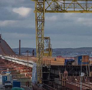 Most Krymski nowy