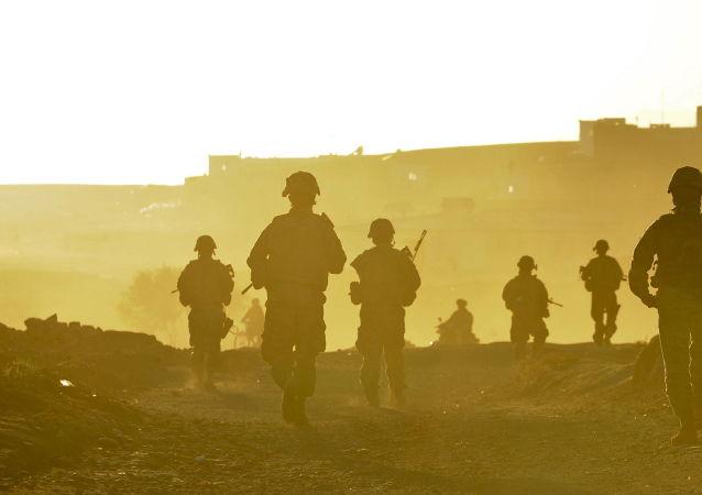 Amerykańscy żołnierze w Afganistanie