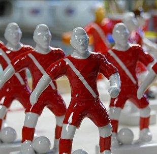 Porcelanowi piłkarze