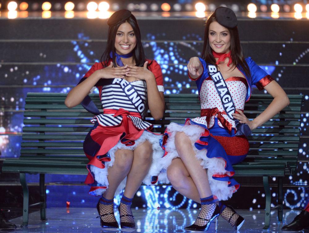 Uczestniczki konkursu piękności Miss Francji 2018