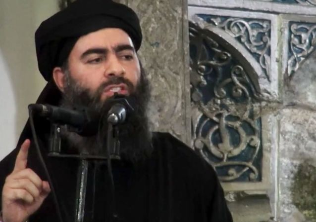 Lider PI Abu Bakr al-Baghdadi