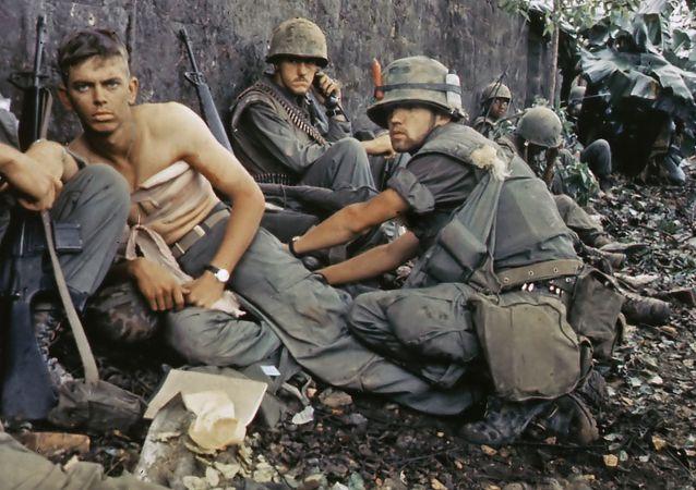 Amerykańscy żołnierze w Wietnamie