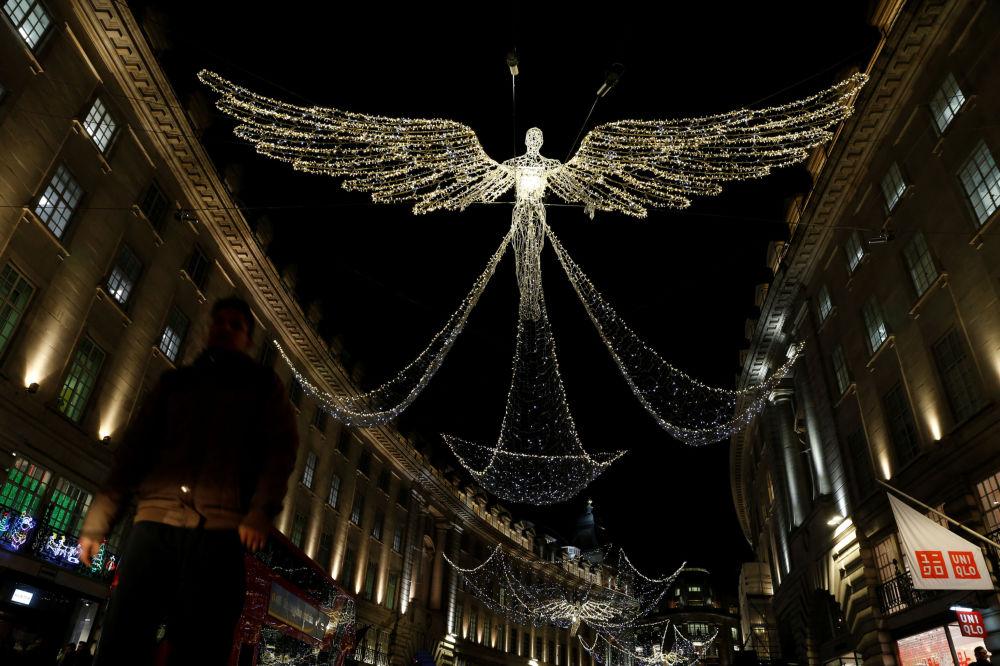 Świąteczne iluminacje w Wielkiej Brytanii