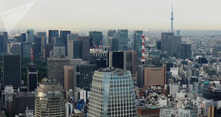 Widok na Tokio