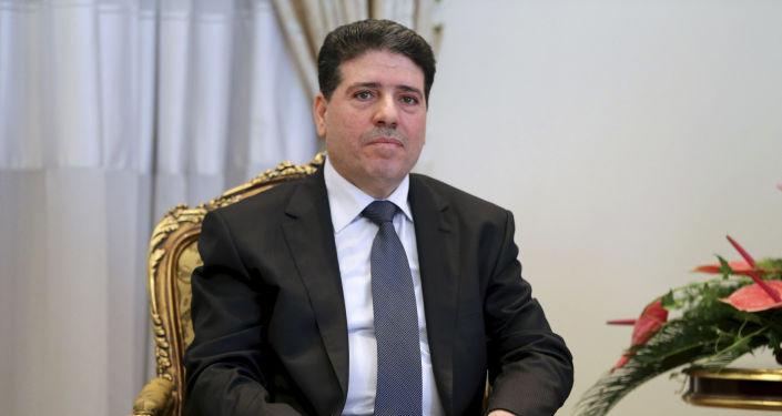 Premier Syrii Wa'il al-Halki