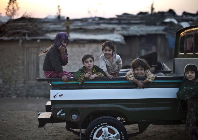 Afgańskie i pakistańskie dzieci