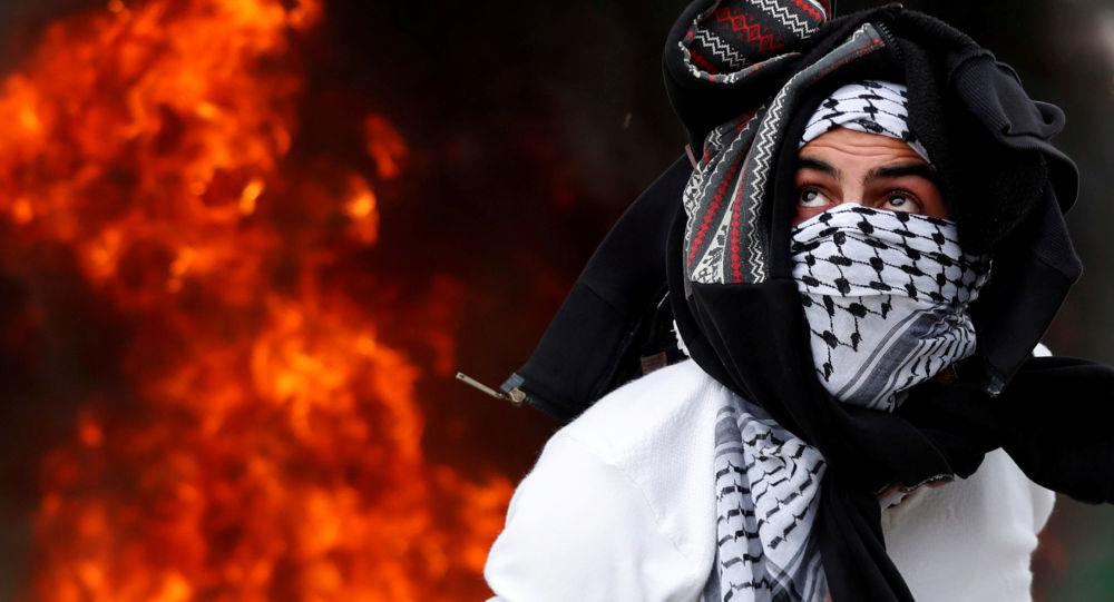 Palestyńczycy protestują