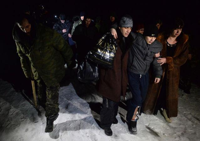 Wymiana jeńców w Donbasie