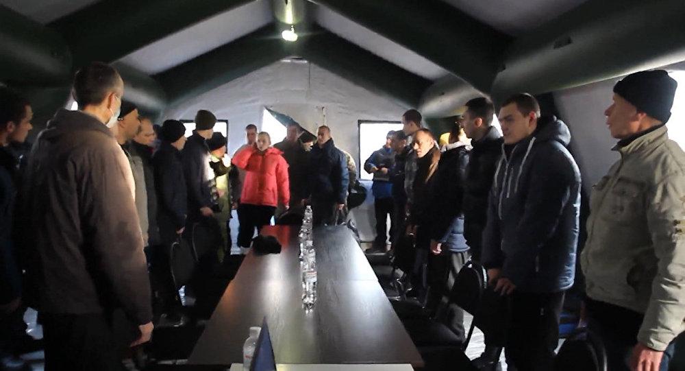 Wymiana jeńców między Kijowem i proklamowanymi republikami DRL i ŁRL