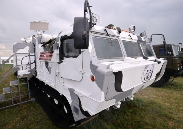 Pojazd bojowy przeciwlotniczego systemu rakietowego Tor-M2DT