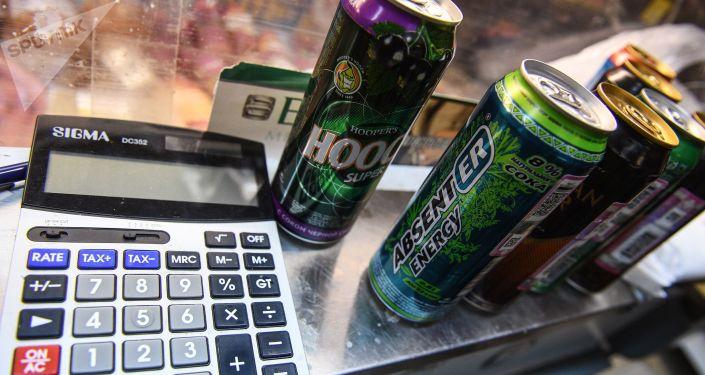 Energetyczne napoje alkoholowe