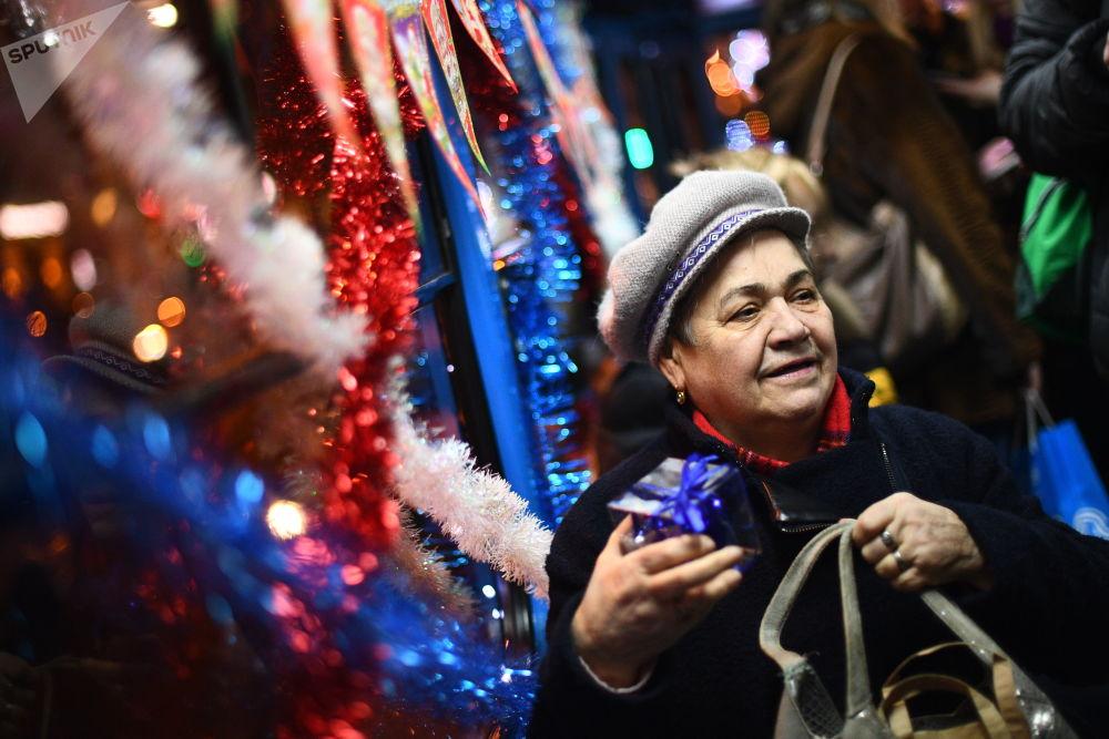 Pierwszy świąteczny tramwaj został uruchomiony w 2015 roku.