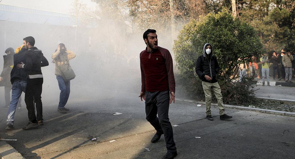 Protesty w Teheranie