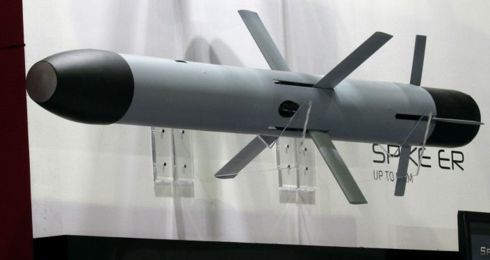 Przeciwpancerna rakieta sterowana Spike wyprodukowana przez izraelską firmę Rafael