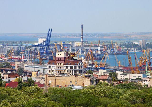 Port w Odessie, Ukraina