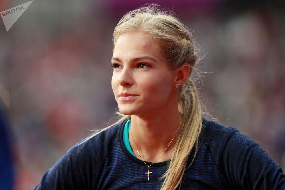 Darja Kliszyna, rosyjska lekkoatletka specjalizująca się w skoku w dal