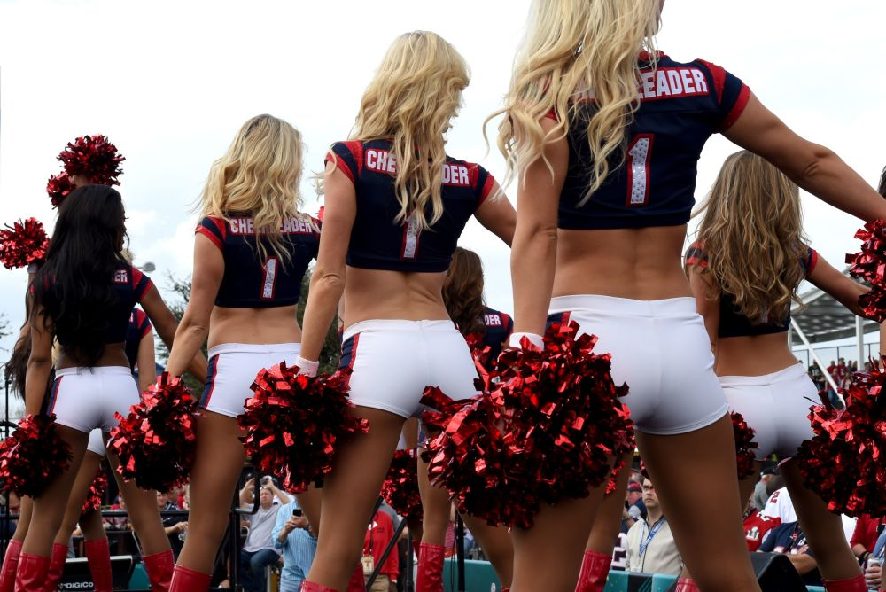 Cheerleaderki Houston Texans