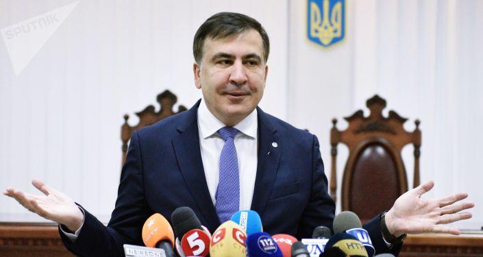 Były gubernator obwodu odesskiego Ukrainy Michaił Saakaszwili