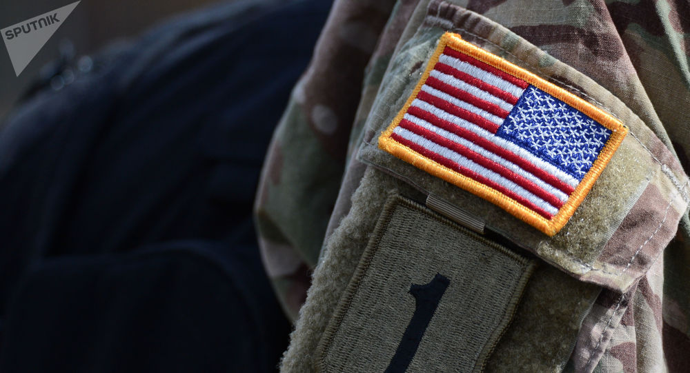 Naszywka na mundurze oficera batalionu NATO
