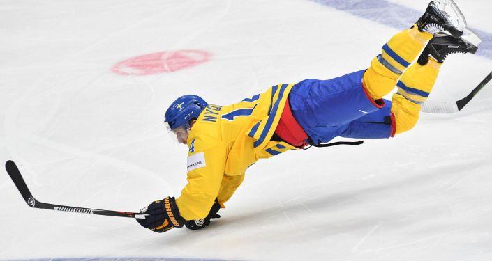 Reprezentant Szwecji w hokeja