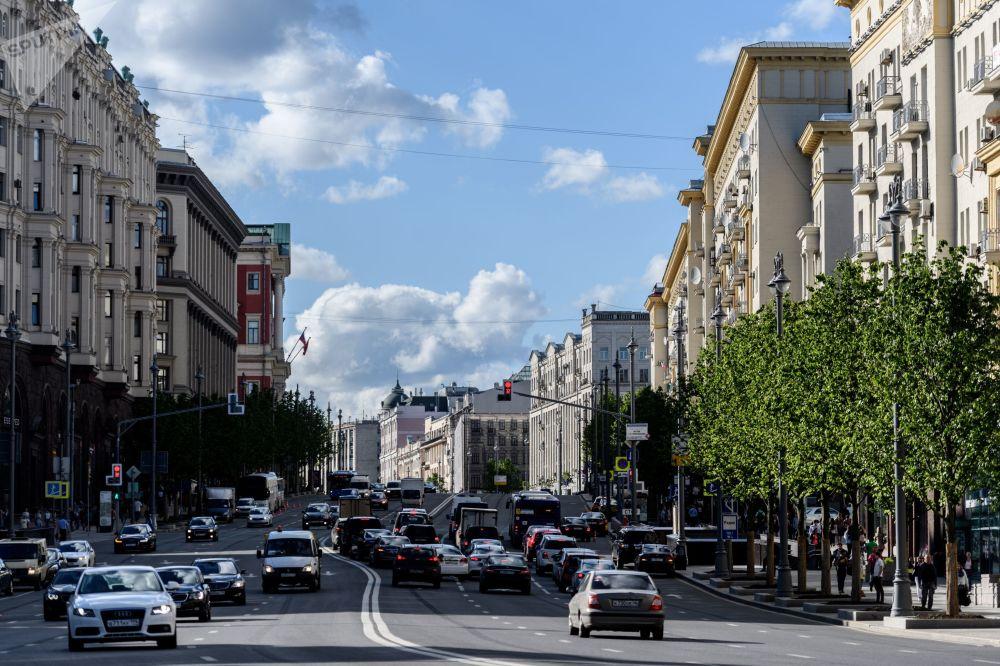Ulica Twierskaja w Moskwie, 2017 rok