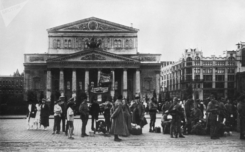 Teatr Wielki w Moskwie, 1918 rok