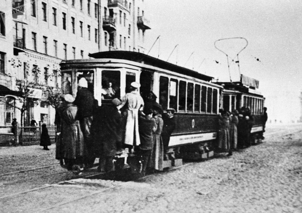 Tramwaj w Moskwie, 1925 rok