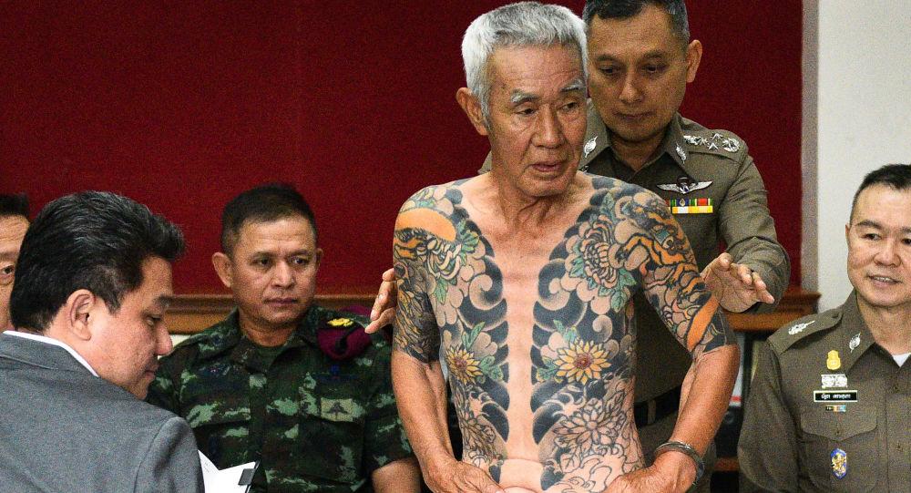 Aresztowany w Tajlandii 74-letni Shineharu Shirai , były szef jednej z największych japońskich organizacji mafijnych