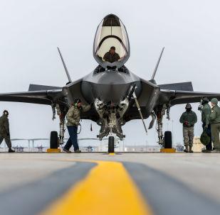 Amerykański myśliwiec F-35A