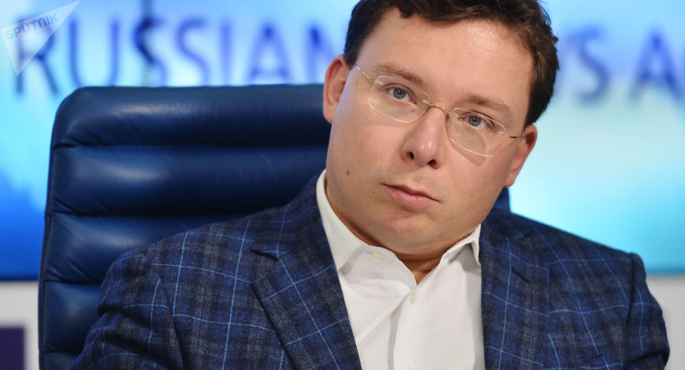 Oleg Bondarenko, dyrektor Agencji Komunikacji Strategicznych, 2015 rok