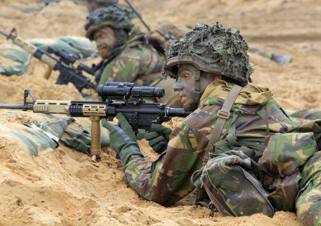 Żołnierze NATO na Litwie