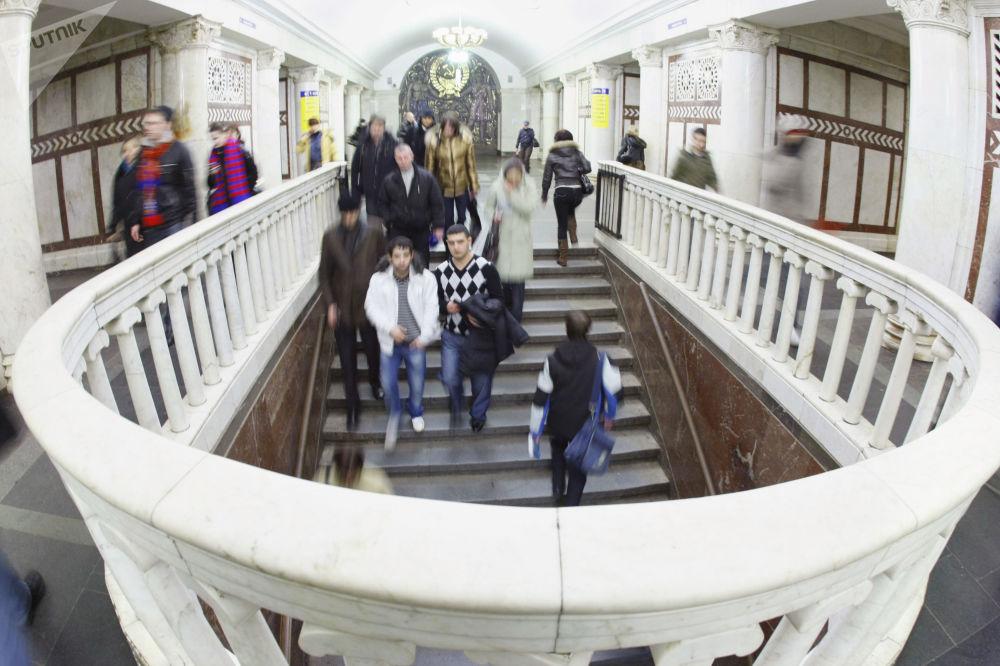 Stacja moskiewskiego metra Pawieleckaja