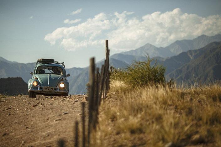 Garbus w Andach