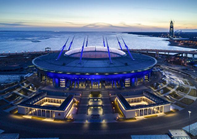"""Stadion """"Petersburg Arena"""" w Petersburgu"""