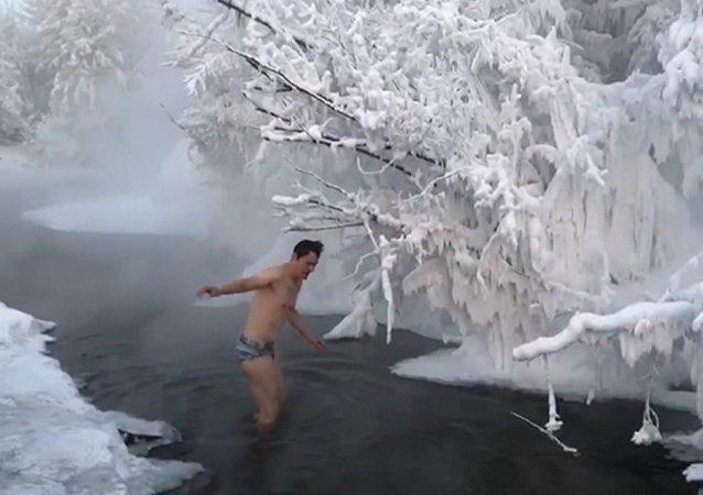 Arktyczna kąpiel