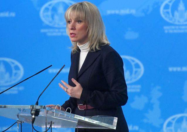 Rzecznik MSZ Rosji Maria Zacharowa
