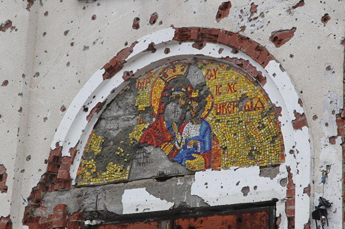 Świątynia im. Iwerskiej Ikony Matki Boskiej, Donieck