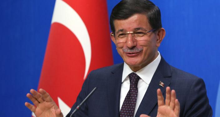 Były premier Turcji Ahmet Davutoğlu