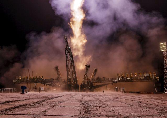Start statku kosmicznego Sojuz
